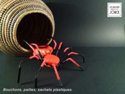 Cruella l'araignée en récup'