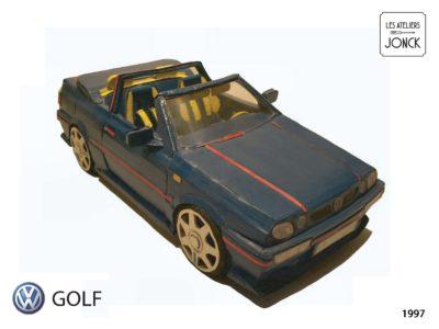 1997-VW-Golf en carton