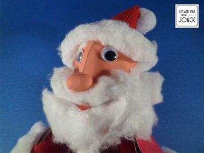 Père Noël en pot de Yaourt